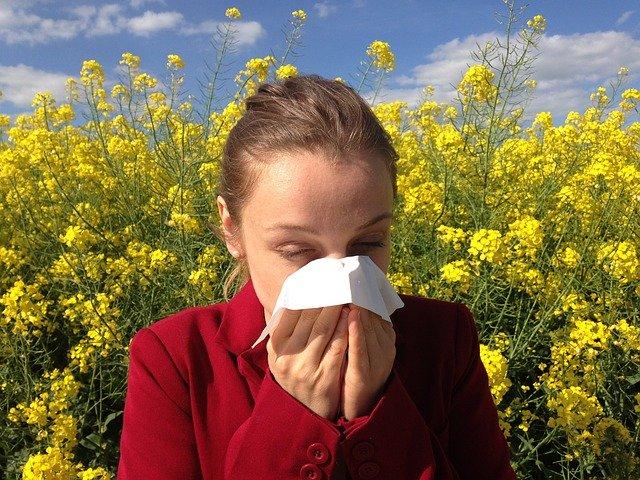 【ヨガと花粉症】ひどい人の共通点。原因と対策!